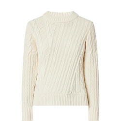 Twisted Cable Knit Sweater