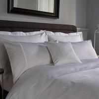 1000 Thread Count 2-Cord Duvet Cover White
