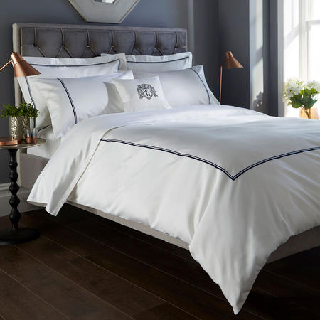 1000 Thread Count Two Cord Coordinated Set Navy