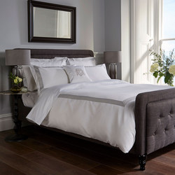 1000 Thread Count Banded Coordinated Set Grey