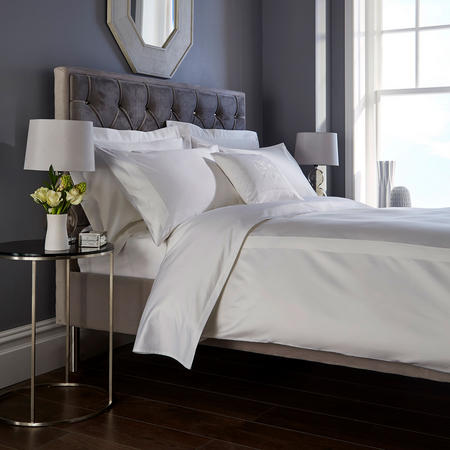 1000 Thread Count Fitted Sheet Extra Deep White