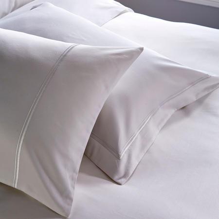 1000 Thread Count 2-Cord Oxford Pillowcase White