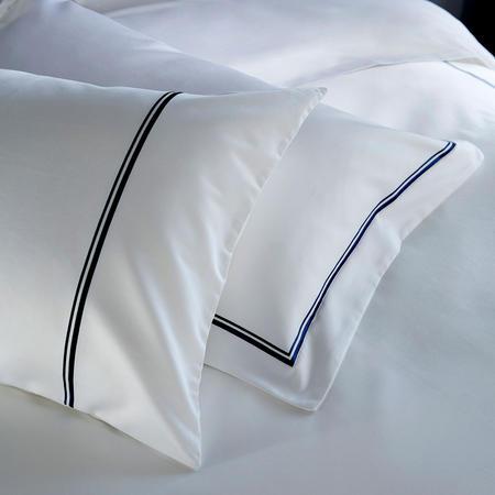 1000 Thread Count 2-Cord Oxford Pillowcase Navy