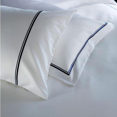 1000 Thread Count 2-Cord Housewife Pillowcase Pair Navy