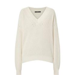 Chunky V-Neck Sweater