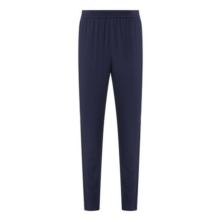 Straight Fit Satin Trousers