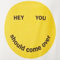Smiley Print T-Shirt