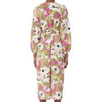 Sabria Floral Print Shirt Dress