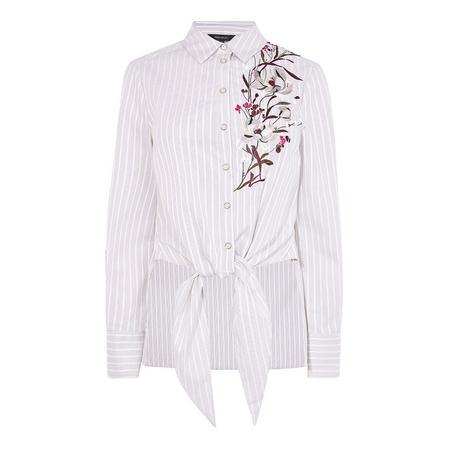 Lotus Tie-Front Shirt