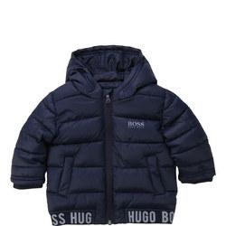Babies Logo Tape Puffer Jacket