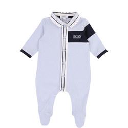 Polo Collar Babygrow