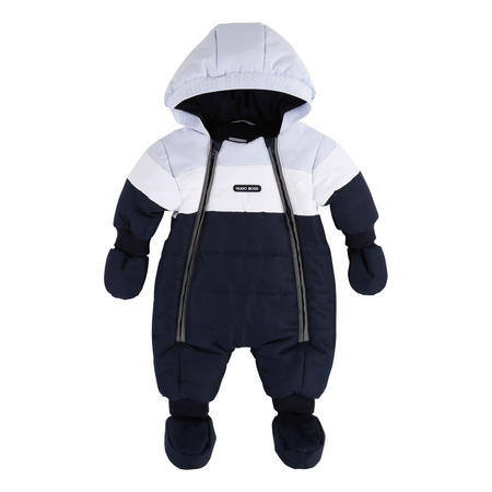 Colour Block Snowsuit
