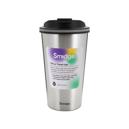 Travel Cup 355ml Silver