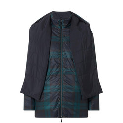 Reversible Check Quilted Jacket