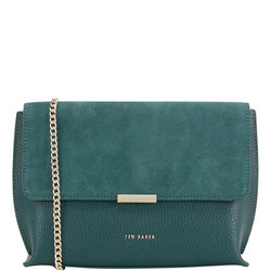 Lisa Suede Crossbody Bag