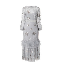Star Sequin Dress