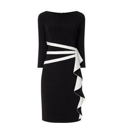 Ruffled Wrap Dress