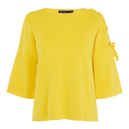 Tie-Shoulder T-Shirt