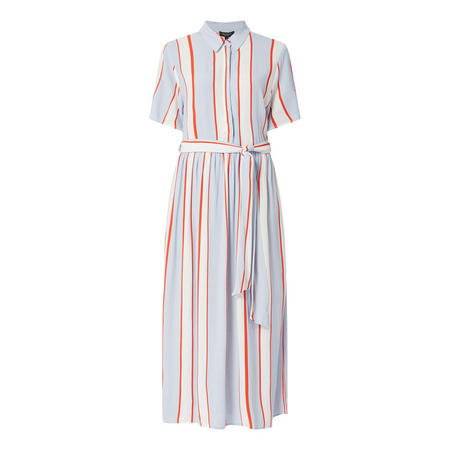 Rory Stripe Shirt Dress