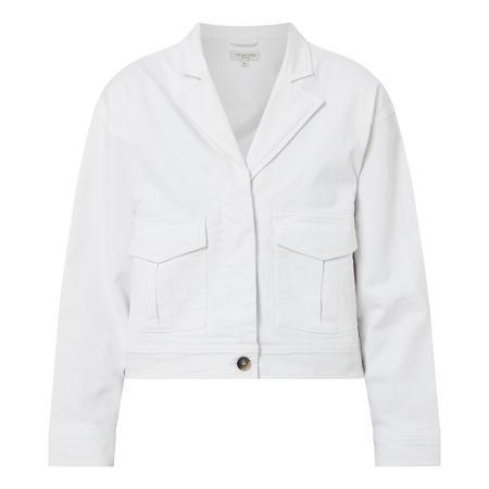 Carry Cropped Denim Jacket