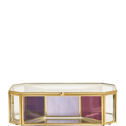 Glass Geometric Jewellery Box