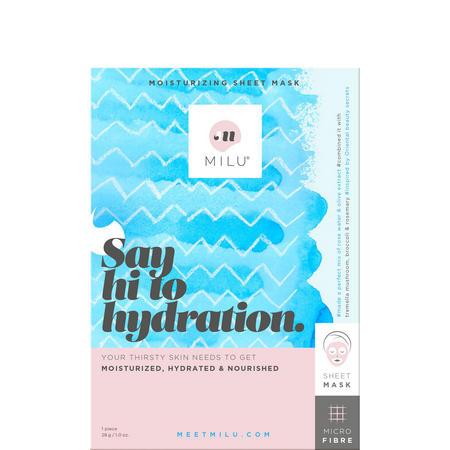 Say Hi to Hydration. Moisturizing Sheet Mask