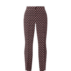 Cannes Print Trousers
