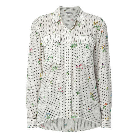 Trail Flower Print Shirt