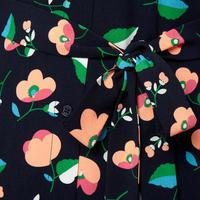 Tong Floral Shirt Dress