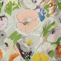 Floral Drawstring Blouse