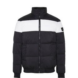 Logo Stripe Puffa Jacket