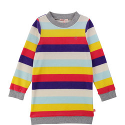 Block Stripe Jumper Dress