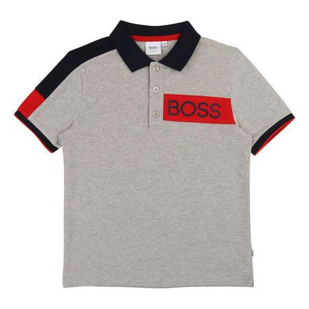 Side Stripe Polo Shirt