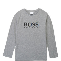 Kids Long Sleeve Logo T-Shirt