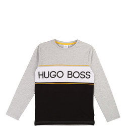 Block Stripe Long Sleeve T-Shirt