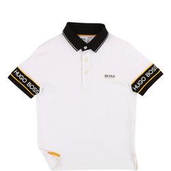 Contrast Logo Trim Polo Shirt