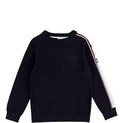 Boys Logo Sleeve Sweater