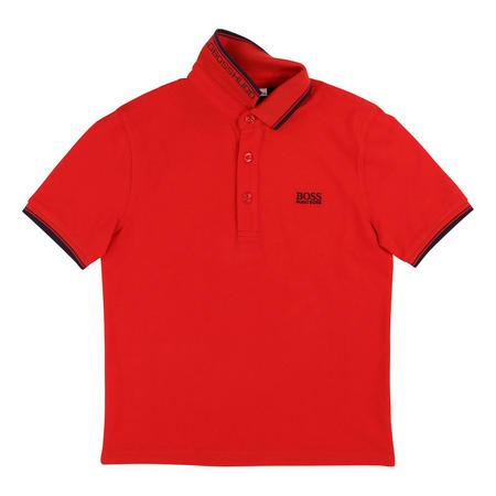 Logo Tipped Polo Shirt