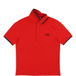 Logo Tipped Polo Shirt