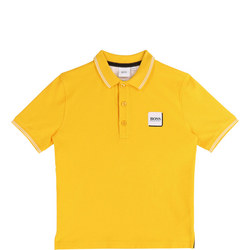 Kids Square Logo Polo Shirt