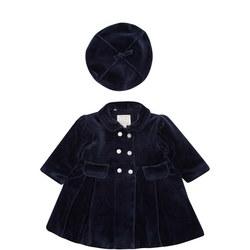 Baby Rosanna Velour Coat