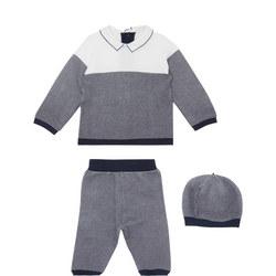 Baby Two-Piece Reggie Stripe Set