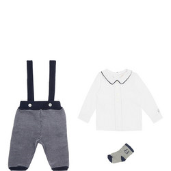 Baby Two-Piece Robbie Dungaree Set