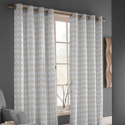 Isha Curtain 168cm x 183cm Multi