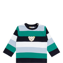 Baby Striped Sweat Top