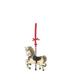 Sparkle Carousel Horse Decoration