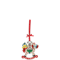 Sparkle Baby's 1st Christmas Rocking Horse Decoration