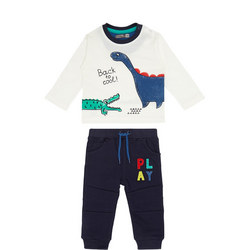 Baby Two-Piece Dinosaur T-Shirt and Sweat Pants Set