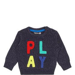 Baby Play Crew Neck Sweater