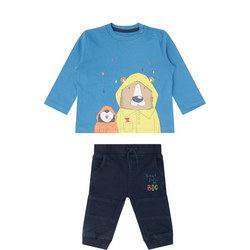 Baby Two-Piece Bear T-Shirt and Trousers Set